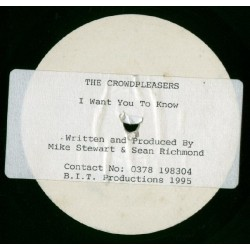 Crowdpleasers  The – I Want You To Know  1995      MIKE 001 -Maxi-Single