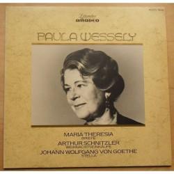 Wessely  Paula – Paula Wessely |1982      Amadeo – AVRS 1502