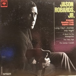 Robards Jason  Jr. ‎– Dramatic Readings From Eugene O'Neill |1974-OL 5900 -Promo