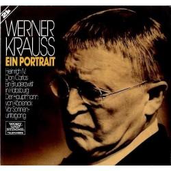 Krauss Werner - Ein Portrait |1965    Telefunken 6.48101-2LP