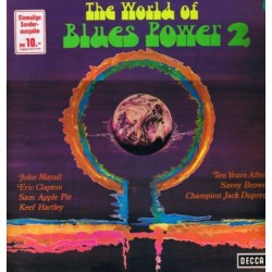 Various ‎– The World Of Blues Power 2| Decca ‎– S 16 634-P