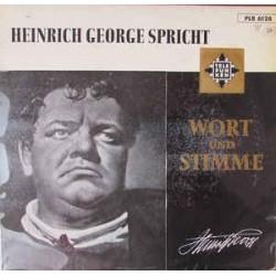 George  Heinrich – Heinrich George Spricht | Telefunken – PLB 6128 -10´´Vinyl