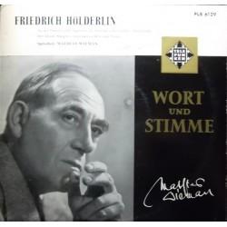 Wieman  Mathias – Liest Gedichte Von Friedrich Hölderlin|LW 22  10´´ Vinyl