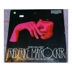Mayröcker  Friederike – Sprechklavier: Traute Foresti Und Die Dichterin |1976    Preiser Records – SPR 9993