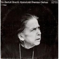 Giehse Therese/Bertolt Brecht / – Ein Bertolt Brecht Abend Mit Therese Giehse 1. Folge |1973 LITERA – 8 65 213