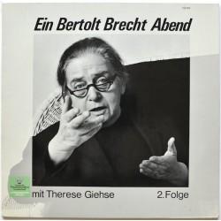 Giehse Therese – Ein Bertolt Brecht Abend Mit Therese Giehse 2. Folge | DGG-Literarisches Archiv – 168 094