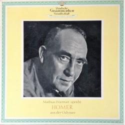 Wieman Mathias - Homer – Aus Der Odyssee| Deutsche Grammophon – 43033/34 LPMS