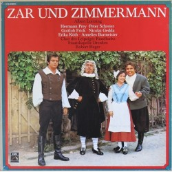 Lortzing ‎ Albert – Zar Und Zimmermann |1 C 183-29 302/04-3-LP-Box