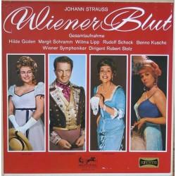 Strauss Johann  / Hilde Güden...Wr. Symphoniker Dirigent: Robert Stolz – Wiener Blut (Gesamtaufnahme) |Eurodisc – HI-FI 72750