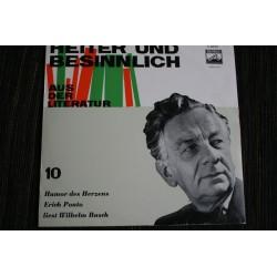 Ponto Erich/Wilhelm Busch – Humor Des Herzens - Erich Ponto Liest Wilhelm Busch | Electrola – E 60 011-10´´Vinyl