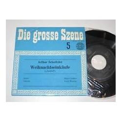 """SCHNITZLER/WEIHNACHTSEINKÄUFE/DIE GROSSE SZENE 5/Amadeo AVRS EP 14110-7""""Vinyl"""