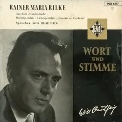 Rilke Rainer Maria -Sprecher: Will Quadflieg – Wort Und Stimme| Telefunken – PLB 6117 -10´´Vinyl