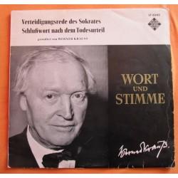 Krauss Werner-Schlußwort nach dem Todesurteil |1960    Wort und Stimme Telefunken LT 6542