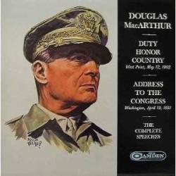 MacArthur Douglas General– The Farewell Addresses Of ...|1964    RCA Camden – SPC-100