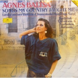 Baltsa Agnes – Songs My Country Taught Me|1986 Deutsche Grammophon – 419 236-1