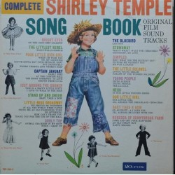 Temple ‎ Shirley – Song Book Original Film Sound Tracks |1959 20th Fox ‎– TCF1032