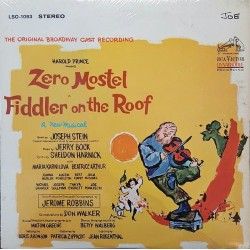 Various ‎–Fiddler On The Roof (The Original Broadway Cast Recording) |1964 RCA Victor ‎– LSO-1093