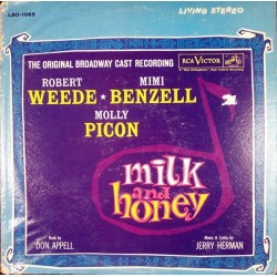 Various-Milk and Honey-Original Broadway Cast Recording |1961 RCA Victor ‎– LSO 1065