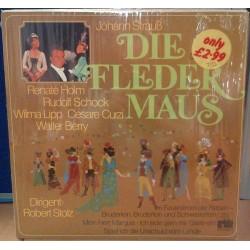 Strauß Johann - Renate Holm, Rudolf Schock....-Dirigent Robert Stolz – Die Fledermaus ( Querschnitt) |657726-Club Edition