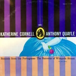 Cornell Katharine - Anthony Quayle – Sonnets From The Portuguese -...|1956     Caedmon Records – TC 1071
