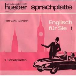 Hoffmann Hans G.  Brigitte Hoffmann, Roy Mepham – Englisch Für Sie 1 |1968     Hueber – 2.2127