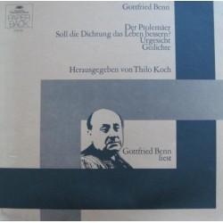 Benn  Gottfried – Gottfried Benn Liest |1972     Deutsche Grammophon – 2757 001