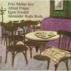 Muliar Fritz liest Alfred Polgar, Egon Friedell|1962   UNIKUM UNI 6   10´´Record