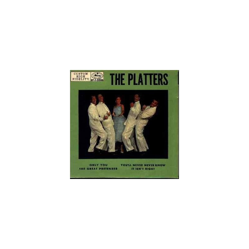 Platters ‎ The – Only You |1957     Mercury ‎– EP-1-3506 -Single