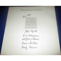 H.C.Artmann, Wolfgang Bauer, Hans Koller, Fritz Pauer – Hirn Mit Ei - Live 1981 - Jazz + Lyrik|Manuskripte Edition – 120 466