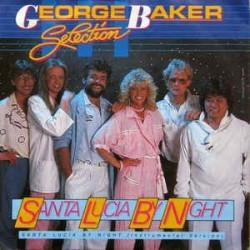 Baker  George Selection ‎– Santa Lucia By Night |1985     Teldec ‎– 6.14428-Single