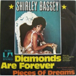 Bassey  Shirley ‎– Diamonds Are Forever |1971     United Artists Records ‎– 35 293 -Single
