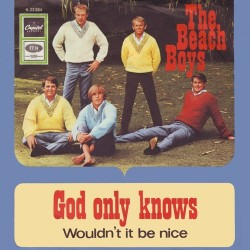 Beach Boys  The ‎– God Only Knows |1966     Capitol Records ‎– K 23 264 -Single