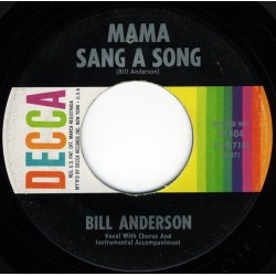 Anderson  Bill – Mama Sang A Song / On And On And On |1962     Decca – 31404 -Single