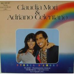 Mori Claudia & Adriano Celentano – Storia D&8217Amore|1982  Ariola 204971