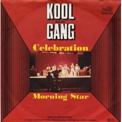 Kool and The Gang ‎– Celebration / Morning Star |1980 De-Lite Records ‎– 0030.339 -Single