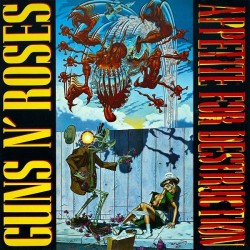 Guns N' Roses ‎– Appetite For Destruction|1987      Geffen Records ‎– 924 148-1