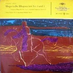 Liszt Franz - Ferenc Fricsay / RIAS Symphonie-Orchester Berlin – Ungarische Rhapsodien Nr. 1 Und 2 | DG LPE 17 055-10´´Vinyl