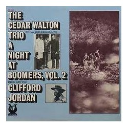 Walton Cedar Trio The -Special Guest Star Clifford Jordan ‎– A Night At Boomers, Vol. 2|1974 Muse Records ‎– MR 5022