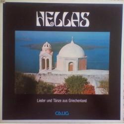 Various – Hellas. Lieder Und Tänze Aus Griechenland  1980 Calig – CAL 30 592