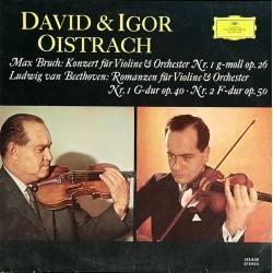 Oistrach David & Igor –Beethoven/Bruch - Konzert Für Violine & Orchester Nr. 1....|DG 135039