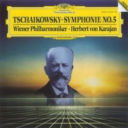 Tschaikowsky • Wr. Philharmoniker • Herbert Von Karajan – Symphonie No.5|1985 DG – 415 094-1
