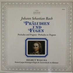 Bach Johann Sebastian / Helmut Walcha – Präludien Und Fugen BWV 552, 541, 546, 543  | Archiv Produktion – 198 307