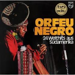 Various – Orfeu Negro - 24 Welthits Aus Südamerika  philips 64322 Club Edition
