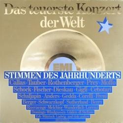 Various – Das teuerste Konzert Der Welt (Stimmen Des Jahrhunderts) | EMI – 64 100 -Club Edition-3-LP