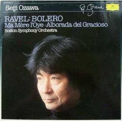 Ravel-Seiji Ozawa-Bolero- Boston Symphony Orchestra  / Ma Mère L'Oye |1983 DG 2543 516