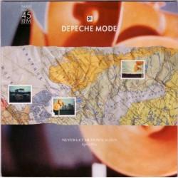 Depeche Mode – Never Let Me Down Again (Split Mix)  1987      Mute – INT 126.868-Maxi-Single-Orange Vinyl