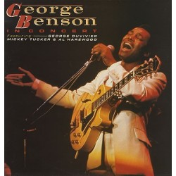 Benson ‎ George– In Concert |1984      Everest Records – CBR 1029