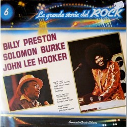 Various- La Grande Storia Del Rock – 6 - Billy Preston / Solomon Burke....|1981 ‎ GSR - 6
