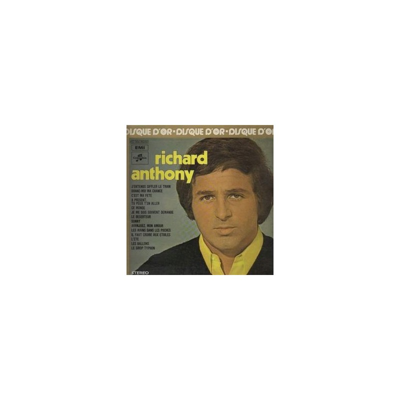 Anthony Richard  – Disque D&8217Or|1980  64351 Club Edition