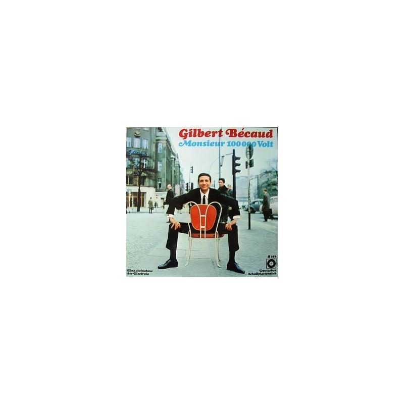 Bécaud Gilbert – Monsieur 100 000 Volt| Deutscher Schallplattenclub – H 046